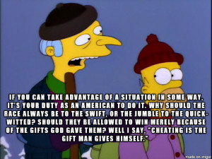 One of the best Mr. Burns quotes