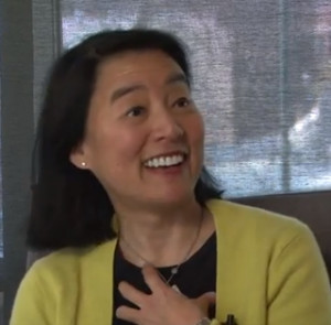 Gail Tsukiyama Photo from Get Lit interview at the Walnut Creek