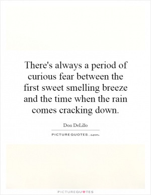 There's always a period of curious fear between the first sweet ...