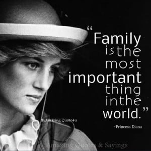 Family Is The Most Important Thing