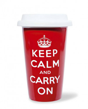 When things get tough all you need to do is keep #calm and #carry on