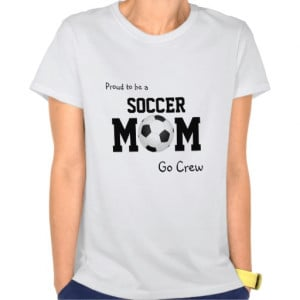 Proud to be a Soccer Mom customizable tank