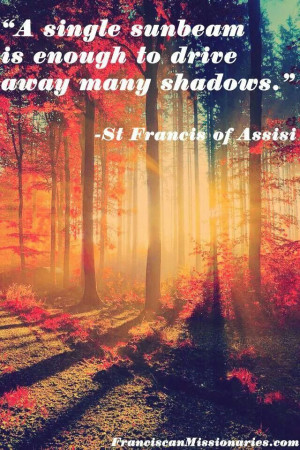 St. Francis of Assisi quote