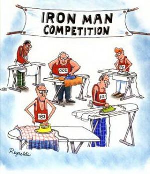 Triathlon Cartoons Witze
