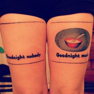 Goodnight, Moon | 50 Incredible Tattoos Inspired By Books From ...