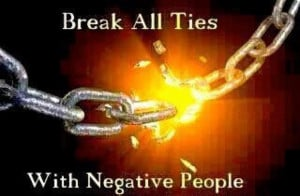 Removing Negative People From My Life