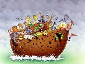 funny noah's ark, funny christian story, funny woodpecker,