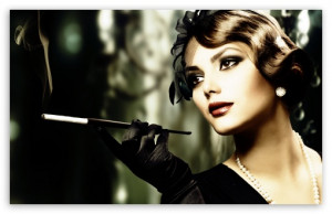 Retro Woman HD wallpaper for Standard 4:3 Fullscreen UXGA XGA SVGA ...