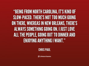 Chris Paul Quotes...