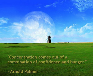 Arnold Palmer Golf Quote