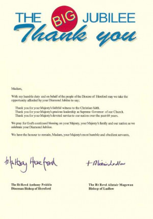 church visitor letter