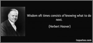 More Herbert Hoover Quotes