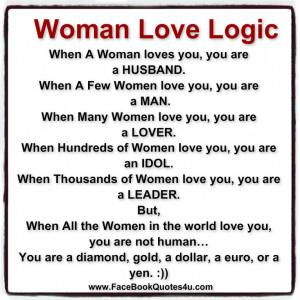 Woman Love Logic: