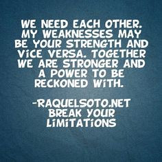 ... Coach #RaquelSoto #quotes #life #BreakYourLimitationsWithRaquel