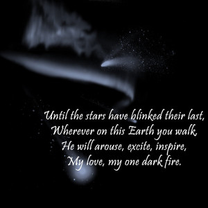Dark romantic use of poetic techniques