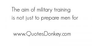 Military Training Quotes