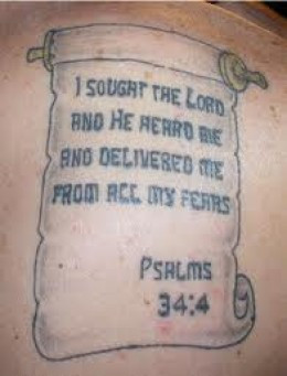 Bible Quote Tattoos And Designs-Bible Phrase Tattoos And Ideas ...