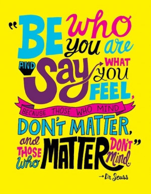 Writing Quote Dr Seuss