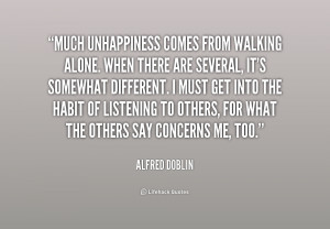 Walking Alone Quotes Preview quote
