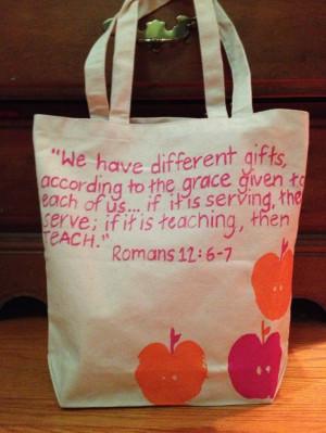 Bible Verses For Teacher Appreciation