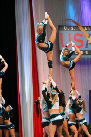 ... Extreme Cheer Stunts, Cheer Extreme, Gardner Scorpion, Cheerleading