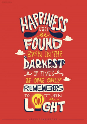 ... Typographic Illustrations Of Memorable Quotes From Books & Movies