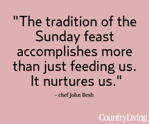 sunday dinner quotes