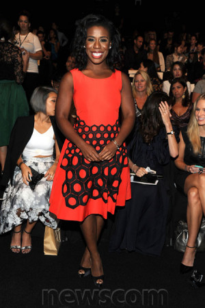 Uzo Aduba – September 7 2014 VIVIENNE TAM Spring 2015 Fashion