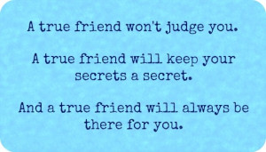 True Friends Quotes and Best Friends Quotes – Awesome Friendship ...