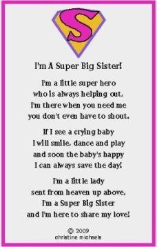 big sister or super big brother poem and super big sister ...Quotes ...
