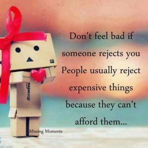No bad feeling....