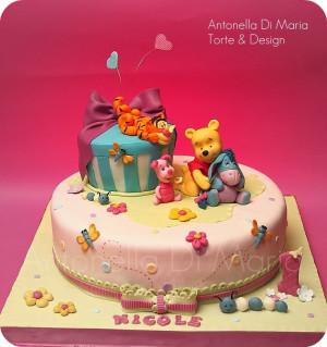 Cake, Pooh Bears, Cake Design, Winnie Pooh, Amazing Cake, Pooh Cake ...