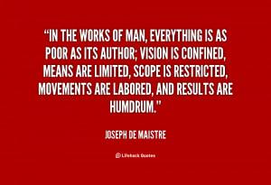 Quotes by Joseph De Maistre