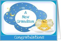Grandmother and Grandson Quotes | New Grandson Congratulations card ...
