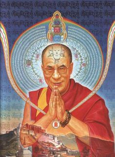 Alex Grey - His Holiness the Dalai Lama More