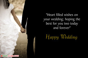 Wedding Orkut Scraps and Wedding Facebook Wall Greetings