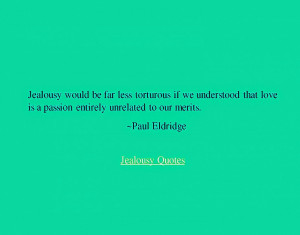 20 Famous Jealousy Quotes