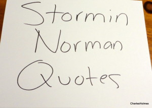 stormin norman quotes