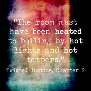 Book quote from my legal thriller