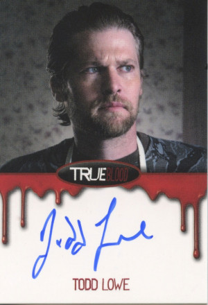 Todd Lowe's True Blood: Premiere Edition Autograph card! http://www ...