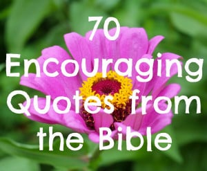 Inspiring Bible Quotes For Hard Times
