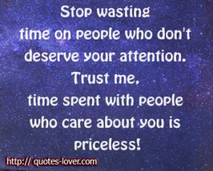 ... Quotes , People Picture Quotes , Time Picture Quotes , Time spent