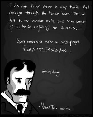 Nikola Tesla motivational inspirational love life quotes sayings ...