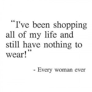 Shopping addicted! haha soo me right here!