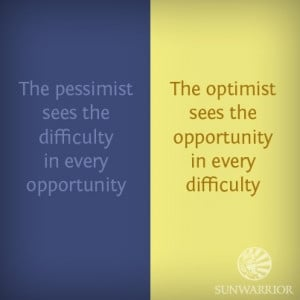 Pessimist vs. optimist. #optimism