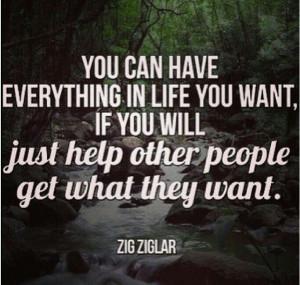 Zig Ziglar Quotes Helping Others