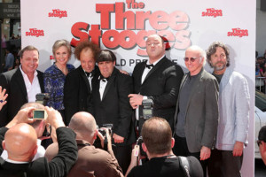 Bobby Farrelly Peter Farrelly and the Three Stooges Cast The Three
