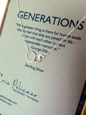 ... Generation Jewelry, Generation Necklaces, 3 Generation Family, Mothers
