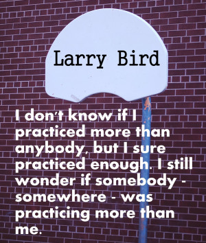 larry bird quotes images pictures Basketball Quotes Motivational