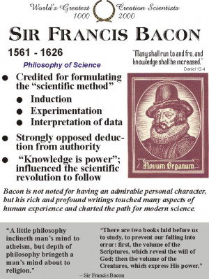 Francis Bacon Quotes Science